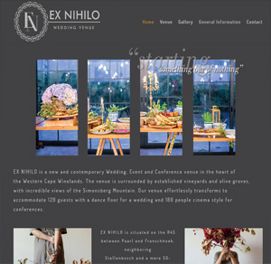 Exnihilo Wedding Venue